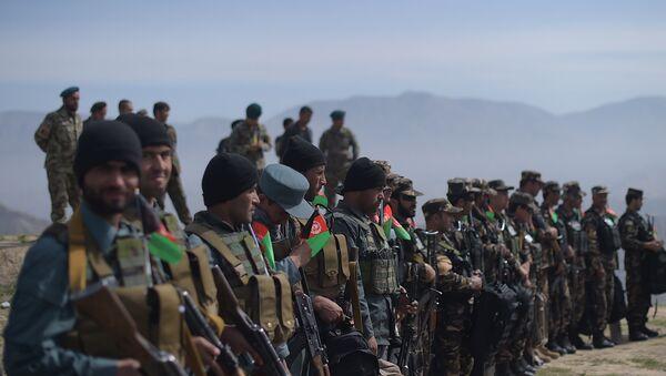 Los soldados afganos (archivo) - Sputnik Mundo