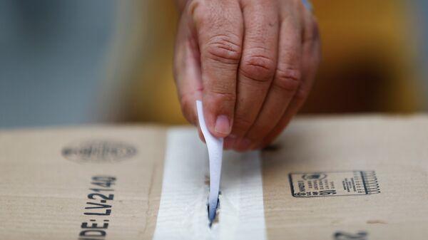Recolección de las firmas para un referéndum revocatorio al presidente venezolano, Nicolás Maduro - Sputnik Mundo