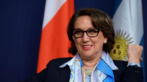 La ex vicepresidenta de Costa Rica Rebeca Grynspan - Sputnik Mundo