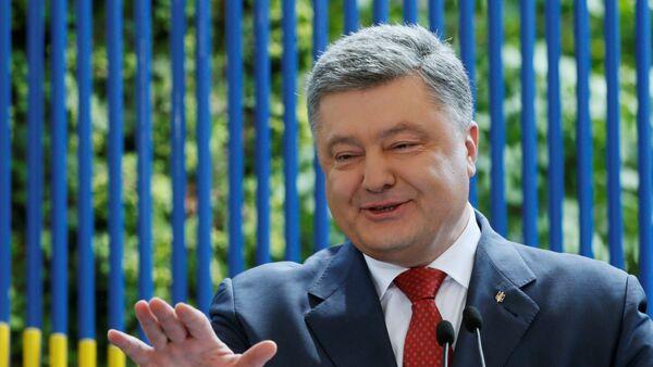 El presidente de Ucrania, Petró Poroshenko - Sputnik Mundo