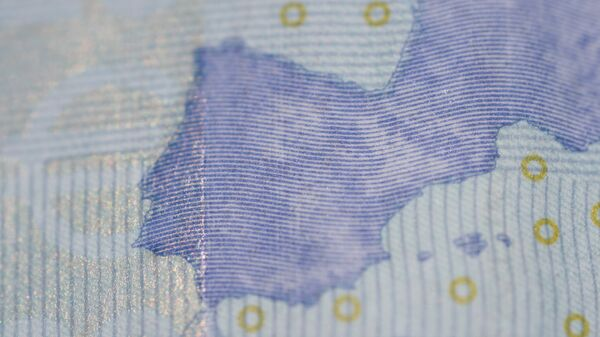 España en el billete de euro - Sputnik Mundo