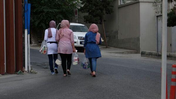 El uso del velo en Irán - Sputnik Mundo