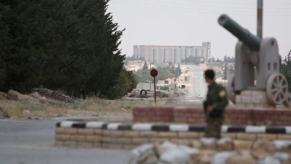 Afueras de Manbij, en el noreste de la provincia de Alepo (Archivo) - Sputnik Mundo