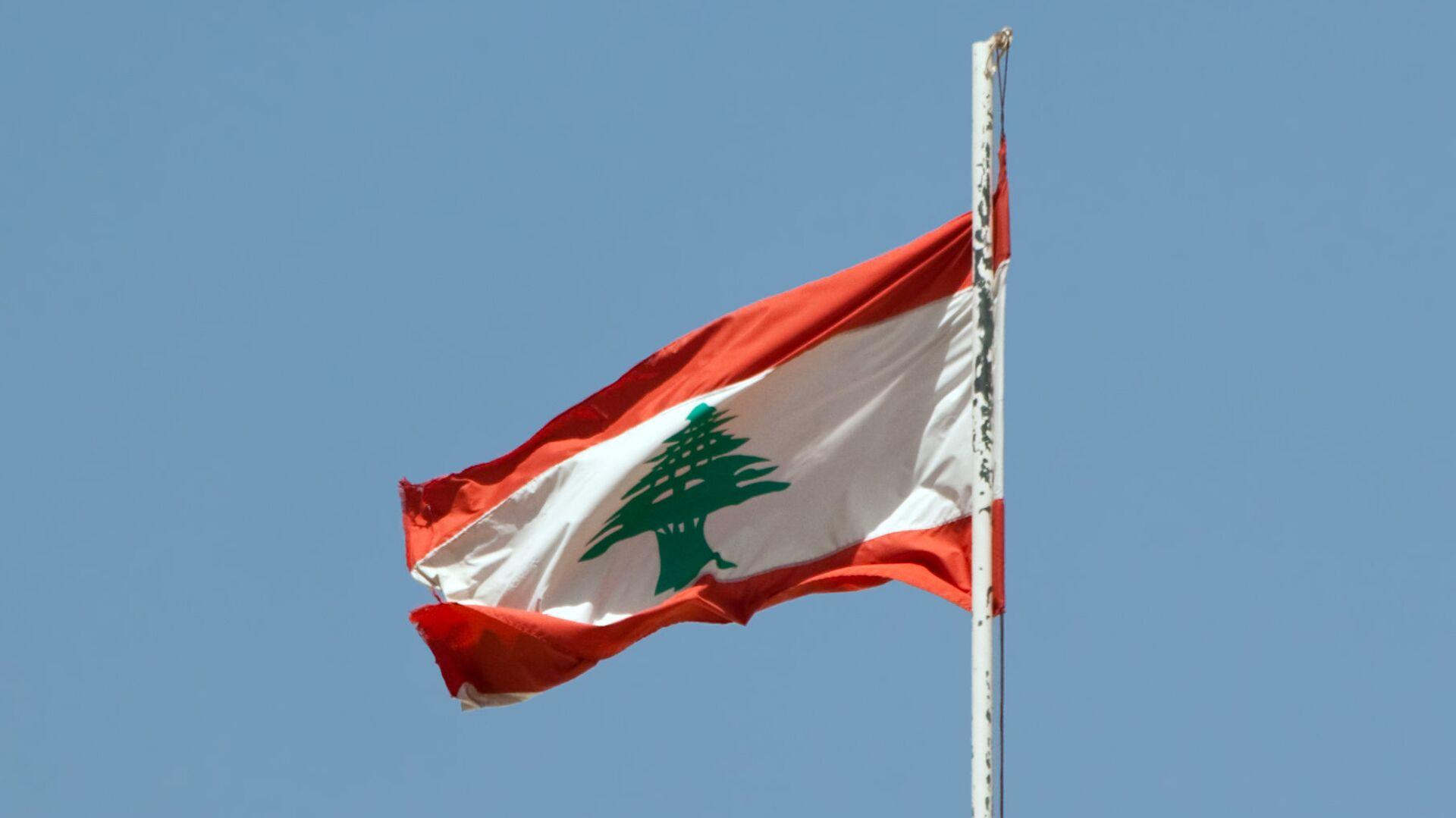 Bandera del Líbano - Sputnik Mundo, 1920, 21.09.2021