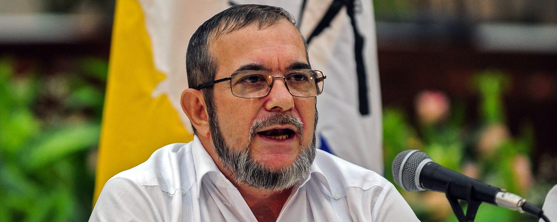 Rodrigo Londoño Echeverri, alias 'Timochenko', máximo líder de las FARC - Sputnik Mundo, 1920, 28.01.2021