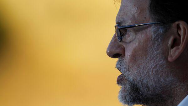Mariano Rajoy, el presidente en funciones del Gobierno español - Sputnik Mundo