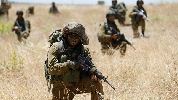 Soldados israelíes en Siria - Sputnik Mundo