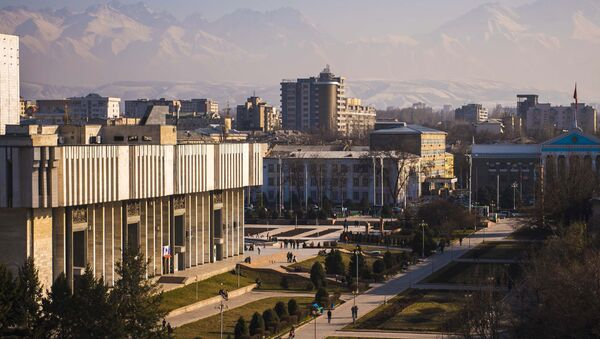 Biskek, la capital de Kirguistán - Sputnik Mundo