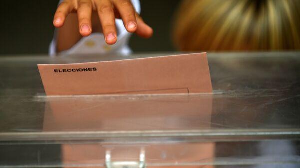 Las elecciones en España - Sputnik Mundo