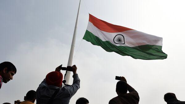 La bandera de la India - Sputnik Mundo