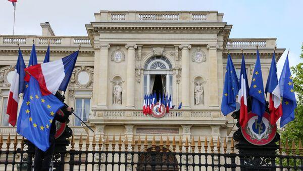 Ministerio de Asuntos Exteriores de Francia en París - Sputnik Mundo