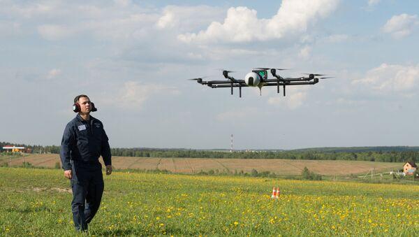 UAV demonstration flights in Moscow region - Sputnik Mundo