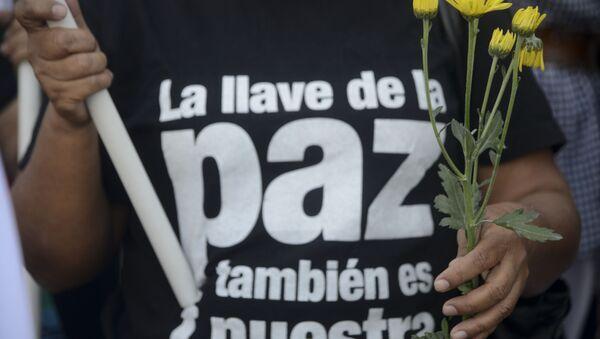 El acuerdo de paz en Colombia - Sputnik Mundo