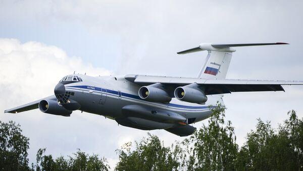 Avión Il-76 (archivo) - Sputnik Mundo