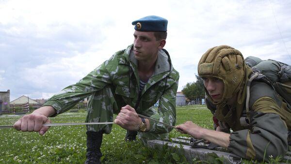 Paracaidistas rusos - Sputnik Mundo