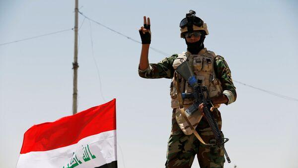 Soldado de las Fuerzas Armadas de Irak - Sputnik Mundo