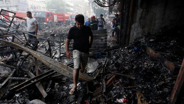 Doble atentado en Bagdad, 3 de julio de 2016 - Sputnik Mundo