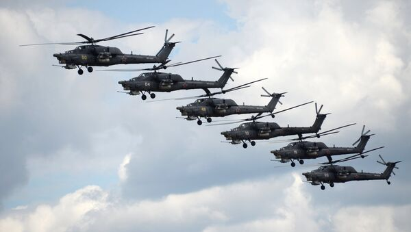 Helicópteros Mi-28N (archivo) - Sputnik Mundo