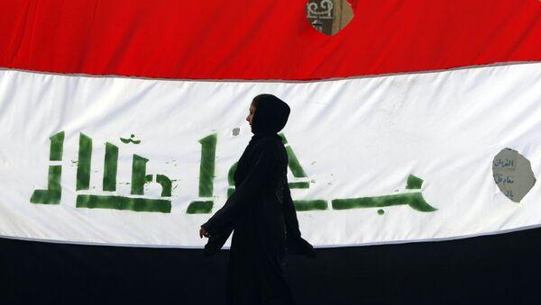 La bandera de Irak - Sputnik Mundo