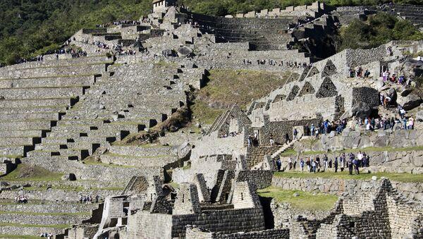 Las ruinas de la antigua ciudad de Machu Picchu. - Sputnik Mundo