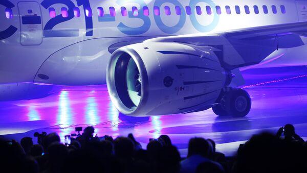Presentación del nuevo avión de pasajeros MS-21 (Archivo) - Sputnik Mundo