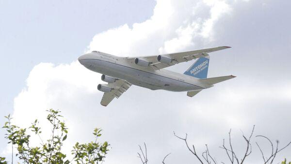 El avión An-124 Ruslán de Ucrania - Sputnik Mundo