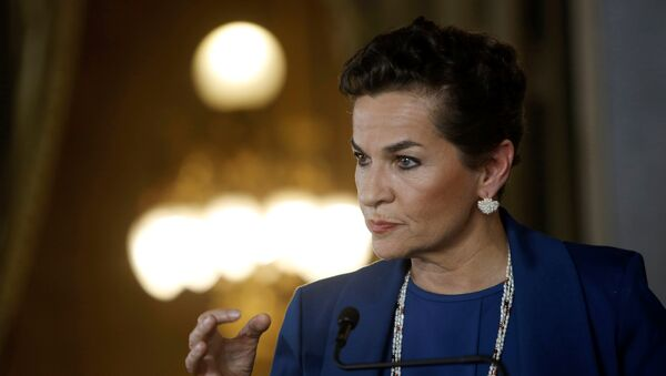Christiana Figueres, política costarricense - Sputnik Mundo
