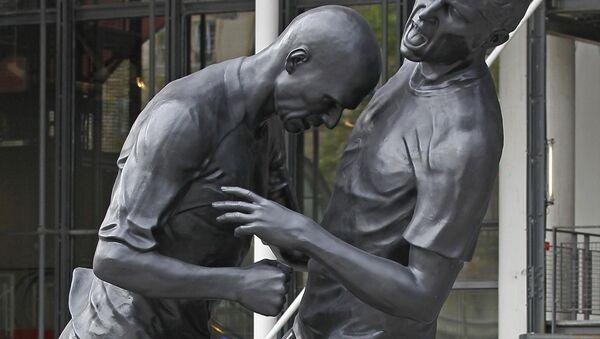 La estatua de Zidane - Sputnik Mundo