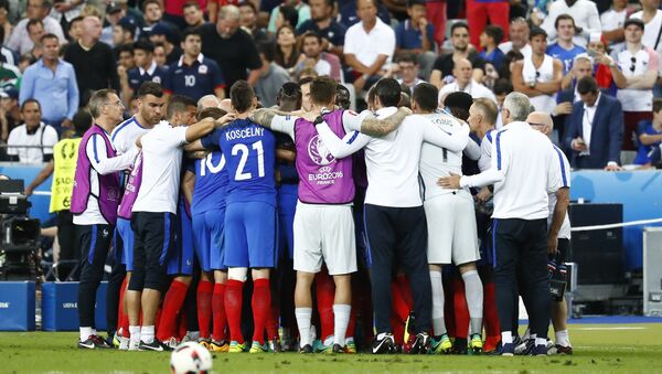 Selección francesa de fútbol (archivo) - Sputnik Mundo