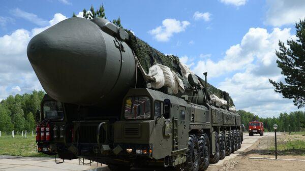 Complejo lanzamisiles Yars - Sputnik Mundo