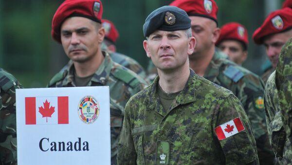 Soldados canadienses (archivo) - Sputnik Mundo