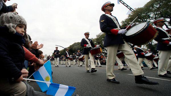 Сelebración del Bicentenario de la Independencia argentina - Sputnik Mundo