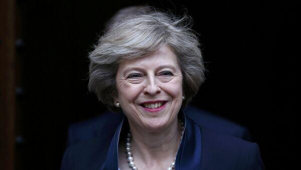 Theresa May, ministra británica del Interior - Sputnik Mundo