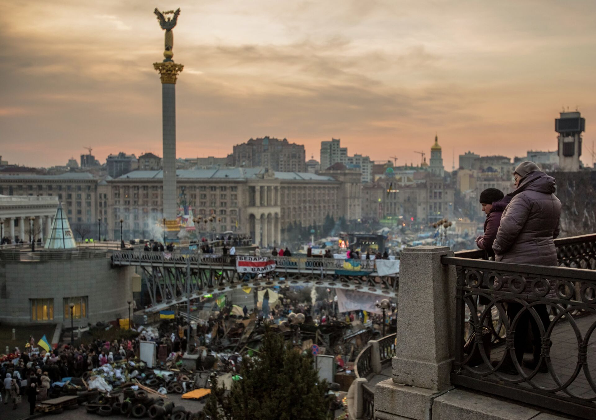 Euromaidán en Kiev, 2014 - Sputnik Mundo, 1920, 23.08.2021