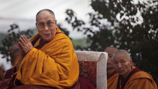 Tibetan spiritual leader the Dalai Lama - Sputnik Mundo