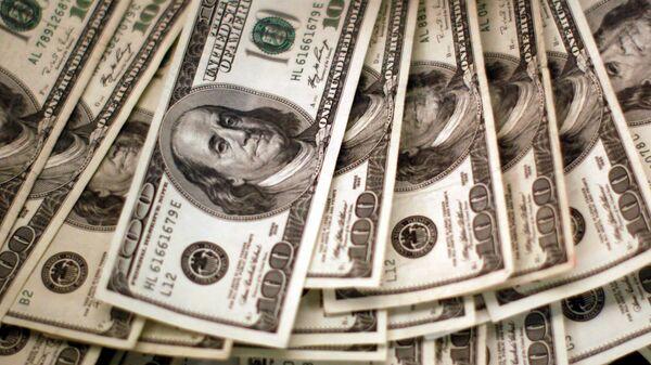 Dólares de EEUU (imagen referencial) - Sputnik Mundo