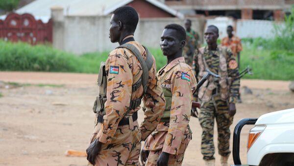 Policía de Sudán - Sputnik Mundo