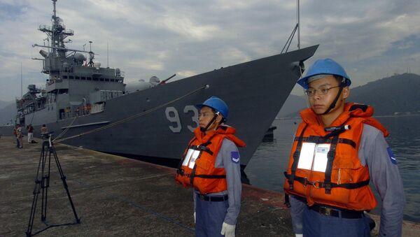 Los soldados de la Marina de Taiwán - Sputnik Mundo