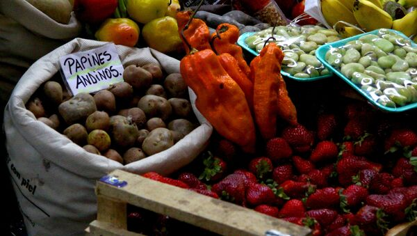 Mercado en Buenos Aires - Sputnik Mundo