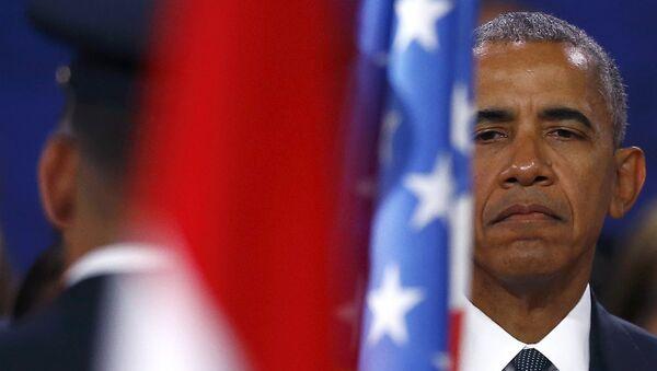 Barack Obama, presidente estadounidense - Sputnik Mundo