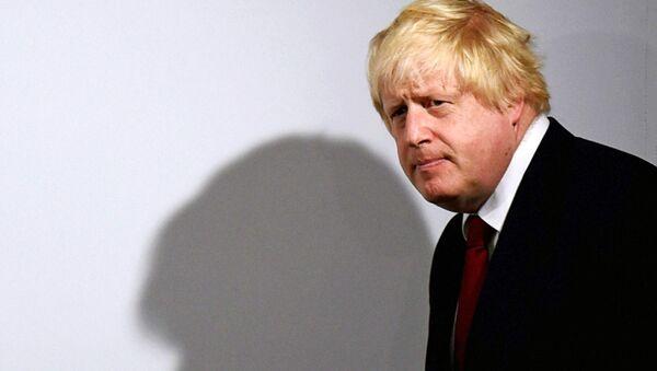 Boris Johnson, el ministro de Asuntos Exteriores británico - Sputnik Mundo