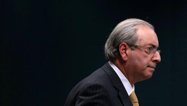 Eduardo Cunha, ex presidente de la Cámara de Diputados de Brasil - Sputnik Mundo