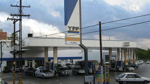 Gasolinera de YPF - Sputnik Mundo