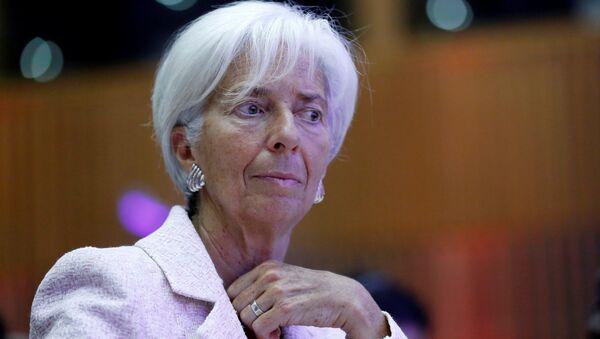 Christine Lagarde, gerente del Fondo Monetario Internacional - Sputnik Mundo