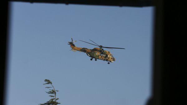 Helicóptero turco, Estambul - Sputnik Mundo