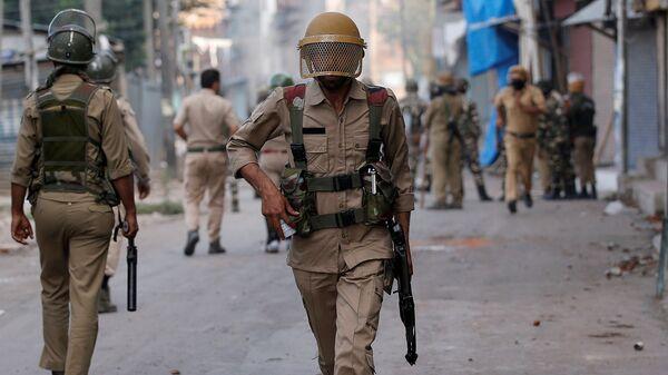 Policía de la India - Sputnik Mundo