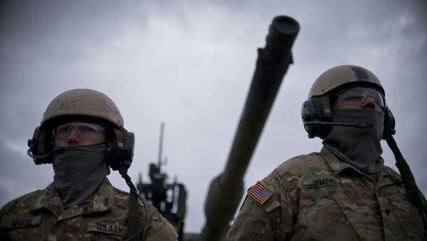 Los soldados de la OTAN - Sputnik Mundo