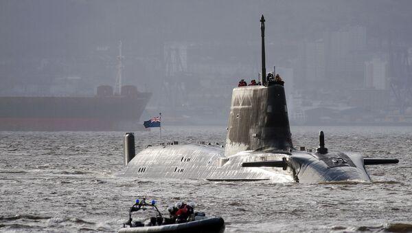 El HMS Astute de la Armada Real Británica - Sputnik Mundo