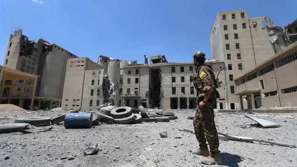 Situación en Manbij, Siria - Sputnik Mundo