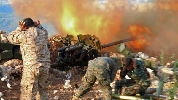 Militares sirios en la provincia de Latakia (archivo) - Sputnik Mundo